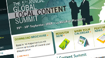 Global Local Content Summit